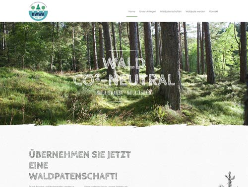 Wald CO²neutral